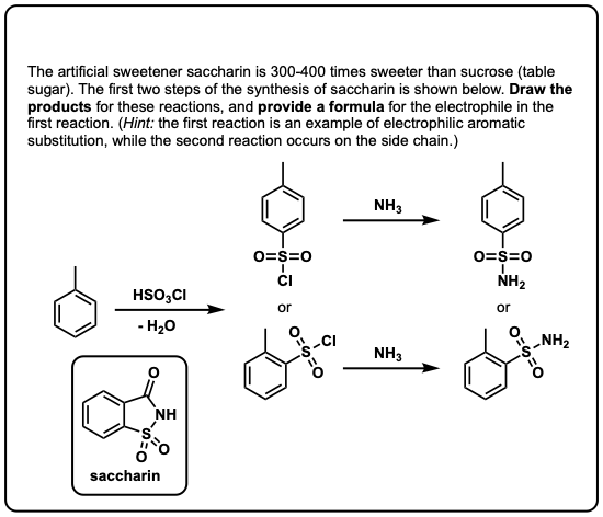 Nitration and Sulfonation Reactions In Electrophilic
