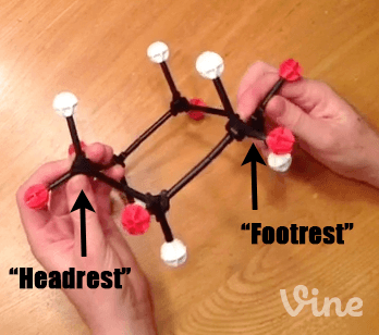model-of-cyclohexane-with-axial-and-equatorial-groups-and-headrest-and-footrest