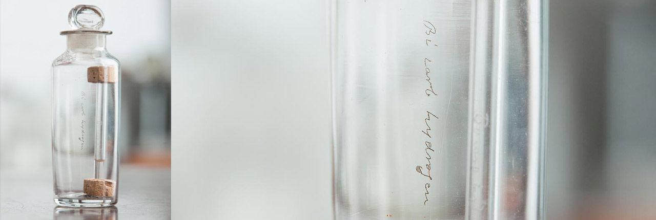 Michael Faradays sample of benzene bicarburet of hydrogen