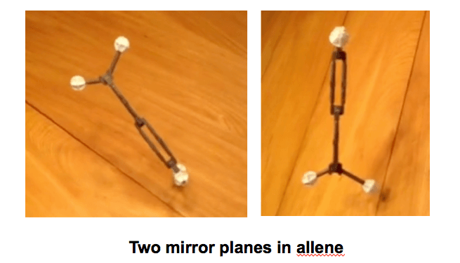 allene-two-mirror-planes-at-90-degrees-to-each-other-achiral
